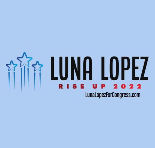 Help Luna Take Down the Establishment! shirt design - zoomed