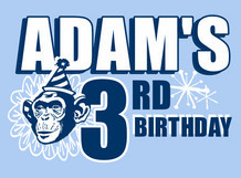 Adam's 3rd Birthday