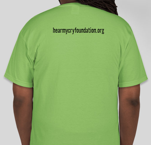 c57a175fe71 May Mental Health Awareness Month Fundraiser - unisex shirt design - back