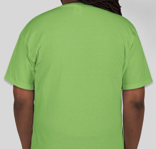 Naturally Sweet Sisters Fundraiser - unisex shirt design - back