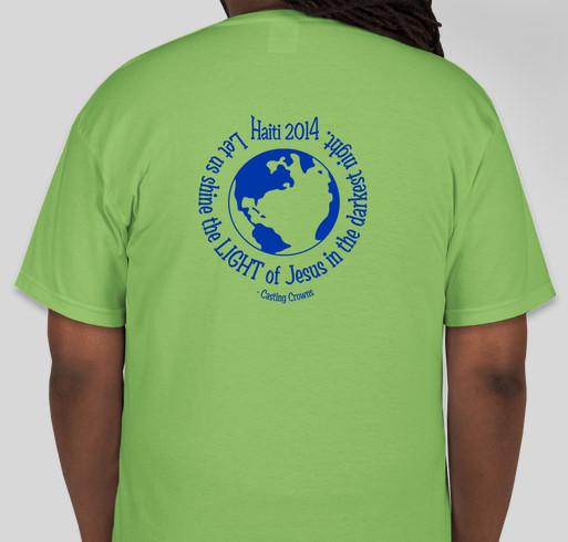 Haiti mission trip t shirt fundraiser custom ink fundraising for Fundraising with t shirts