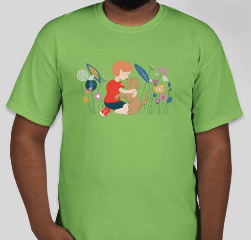 Jack's Service Dog Fundraiser - unisex shirt design - front