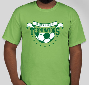 terminators - Soccer T Shirt Design Ideas