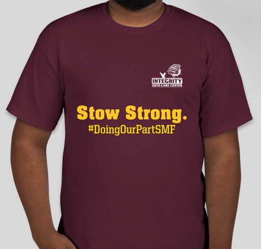 Integrity Auto is Stow Strong! Fundraiser - unisex shirt design - front