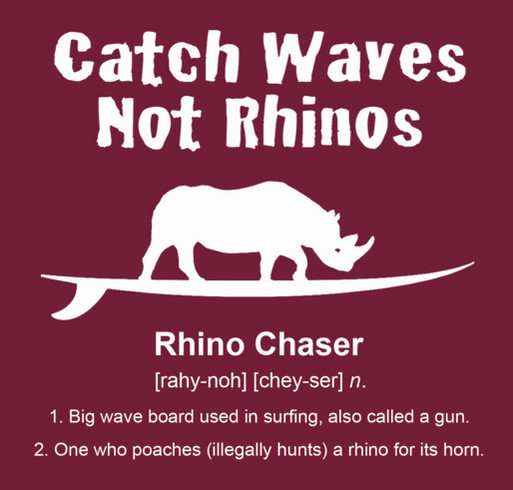 HELP Dylan SAVE Rhinos from Rhino Chasers! Custom Ink Fundraising