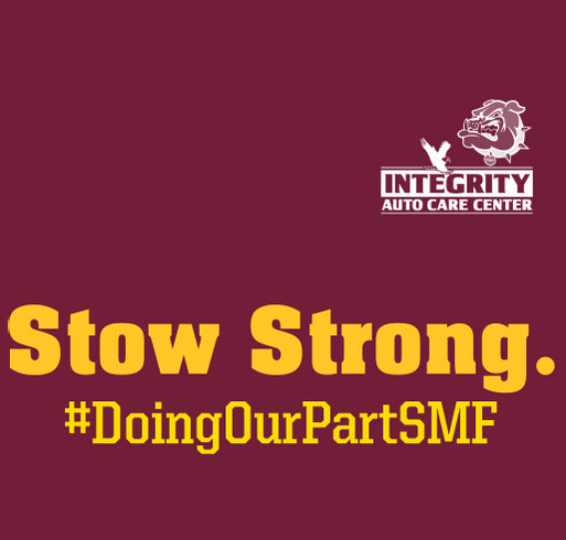 Integrity Auto is Stow Strong! shirt design - zoomed