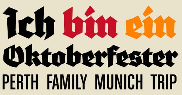Oktoberfest Trip