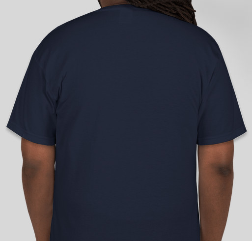 Bailynn Tough Men's Tshirts Fundraiser - unisex shirt design - back