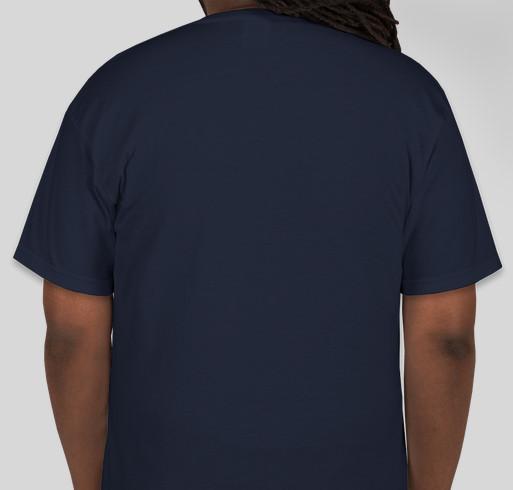 Huntsville Comedy Blitz! Fundraiser - unisex shirt design - back