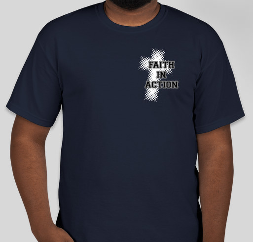 Faith in Action Womens Ministry Fundraiser - unisex shirt design - front