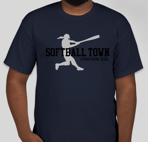 Softball Town Fundraiser - unisex shirt design - front