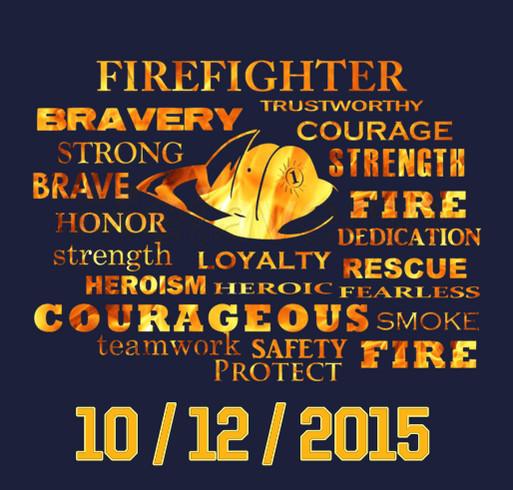 In Memory of the Fallen Kansas City Firemen shirt design - zoomed