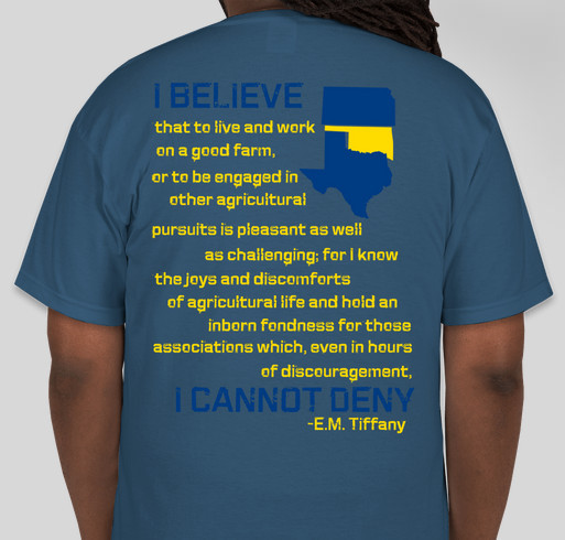 FFA: Healing the Heartland Fundraiser - unisex shirt design - back