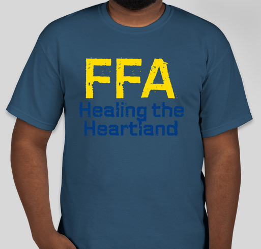 FFA: Healing the Heartland Fundraiser - unisex shirt design - front