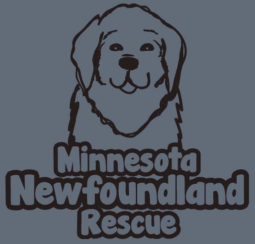 MN Newfoundland Rescue January Shirt Drive shirt design - zoomed