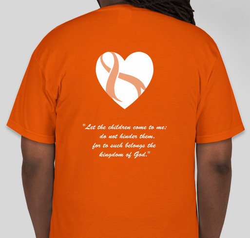 Never Forget Jonathan Thomas  Fundraiser - unisex shirt design - back