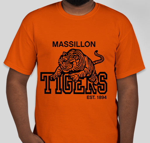 Tigers for Transportation Fundraiser - unisex shirt design - front