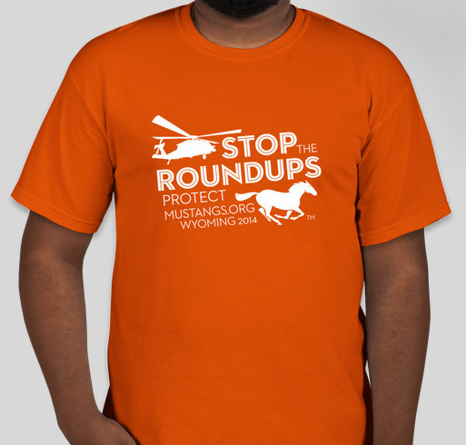 Protect Mustangs Fundraiser - unisex shirt design - front