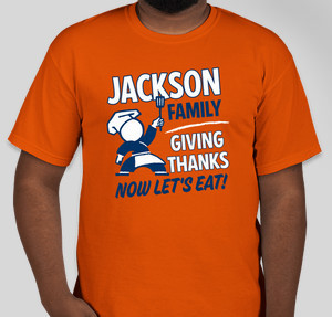 Jackson Family Thanksgiving