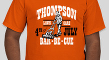 Thompson Lawn Care's BBQ