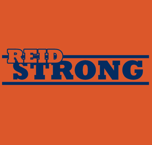 REID STRONG shirt design - zoomed
