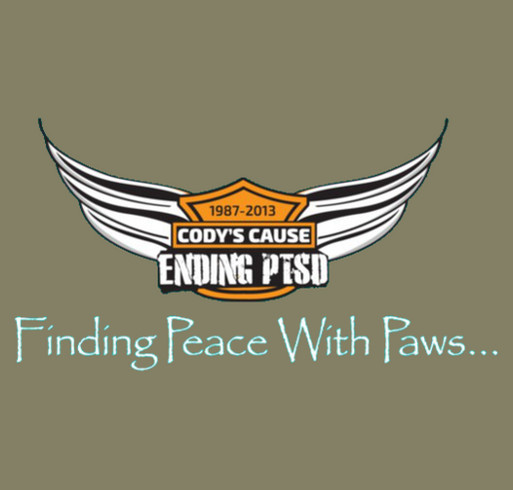 Event Shirt for the 2016 Cody's Cause Bike Run to End PTSD shirt design - zoomed