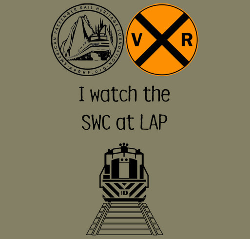 American Passenger Railway Heritage Foundation shirt design - zoomed