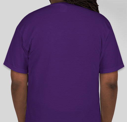 Triangle Epilepsy Parents 2nd Annual World Purple Day Fundraiser! Fundraiser - unisex shirt design - back