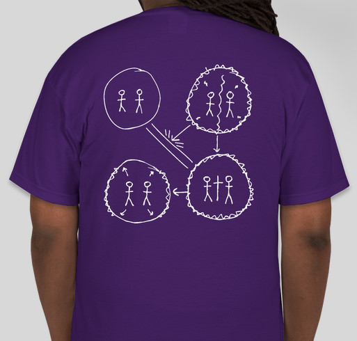 InterVarsity @ Joliet Junior College Fundraiser - unisex shirt design - back