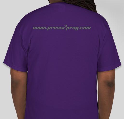 The P.R.E.S.S. Movement Fundraiser - unisex shirt design - back