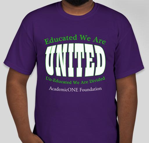 **HELP** Prepare Tomorrow's Workforce, TODAY! Fundraiser - unisex shirt design - front