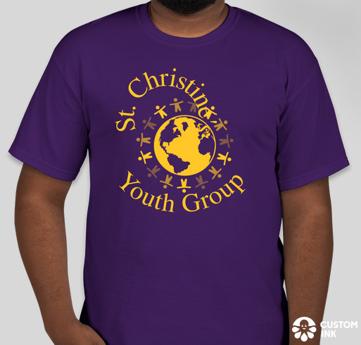If You Are Interested In Ing A St Christine Youth Group T Shirt Please Contact Us At Christineparish Gmail