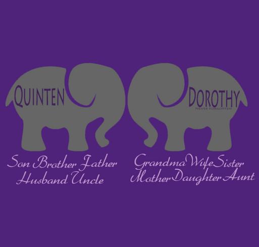 The Purple Elephant Alzheimers Custom Ink Fundraising