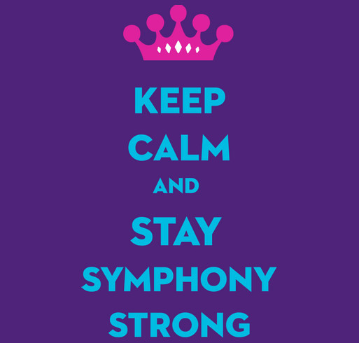Sweet Symphony shirt design - zoomed