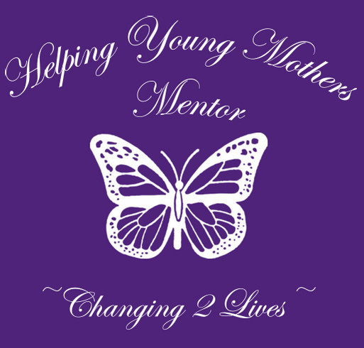 Helping Young Mother's 6th Annual Walk-A-Thon Fundraiser Event shirt design - zoomed