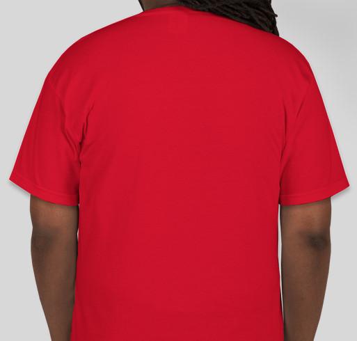 #MECCAcon2015 TShirt Campaign Fundraiser - unisex shirt design - back