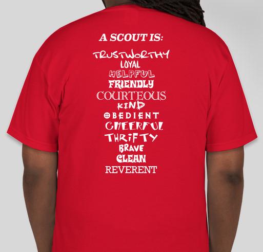 Boy Scout Troop 3 Tehachapi Fundraiser - unisex shirt design - back