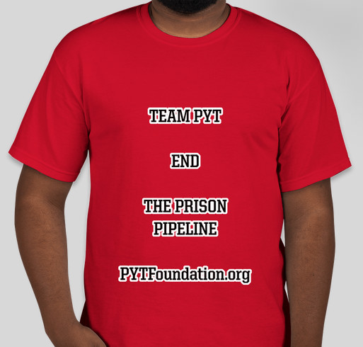 END PRISON PIPELINE Fundraiser - unisex shirt design - front