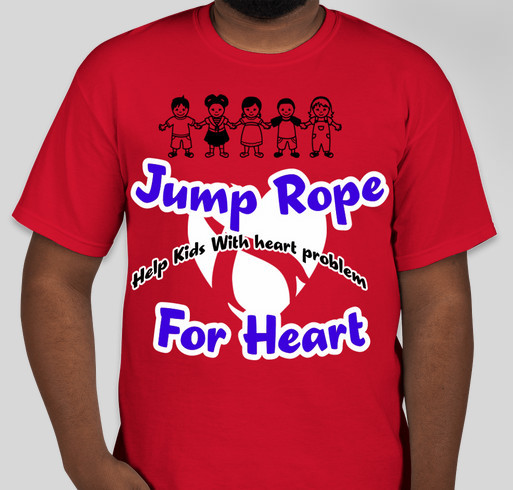 Jump Rope For Heart Fundraiser - unisex shirt design - small