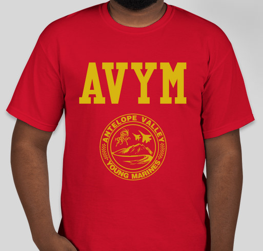 Support t shirt drive for our avym custom ink fundraising for T shirt printing in palmdale ca