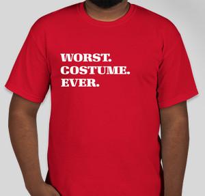 Worst. Costume. Ever