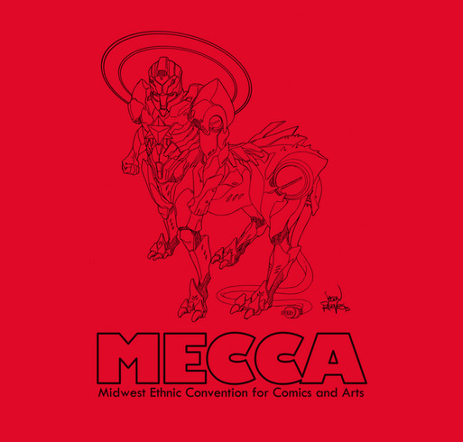 #MECCAcon2015 TShirt Campaign shirt design - zoomed