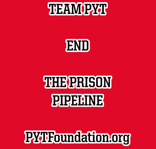 END PRISON PIPELINE shirt design - zoomed