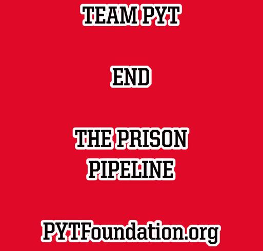 END PRISON PIPELINE shirt design - zoomed