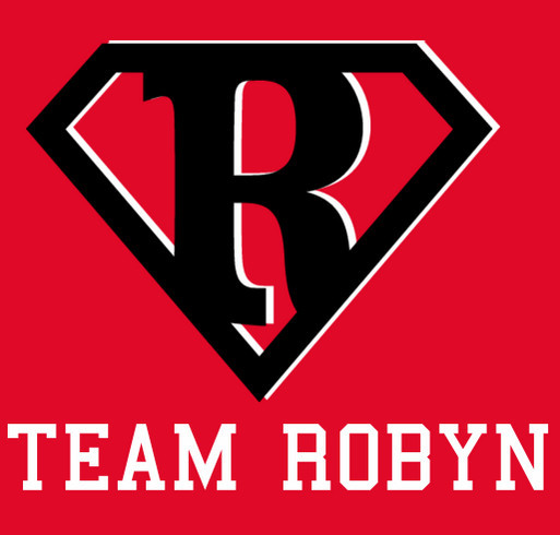 Team Robyn shirt design - zoomed