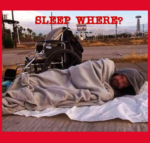 Sleep Where? Decriminalize Homelessness shirt design - zoomed
