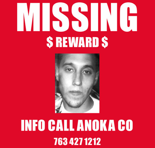 MISSING MAN FROM ANOKA MN shirt design - zoomed