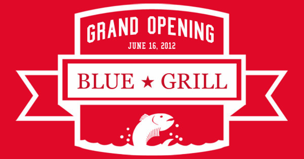 Blue Grill Grand Opening