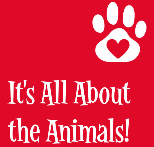 Purchase a Tee for a Purr-fect Cause! It's a Doggone Good One--Animal Welfare! shirt design - zoomed