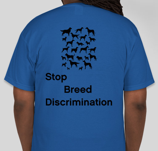 Fight For Our Dog's Rights Fundraiser - unisex shirt design - back